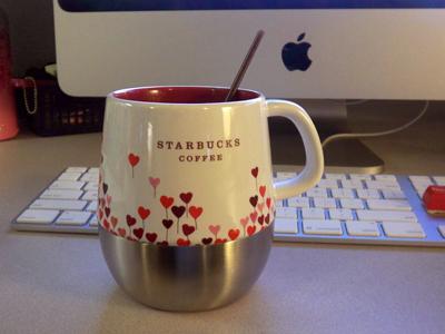 Starbucku0027s Valentines Day Mug