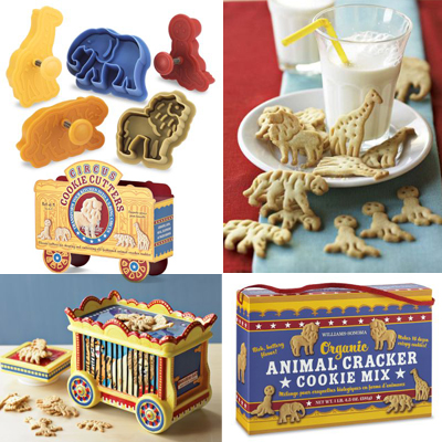 Animal cracker cookie cutters , organic animal cracker mix and a ...