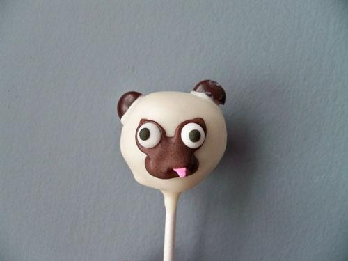 ljcfyi: Valentine's Day Pug Cake Pops