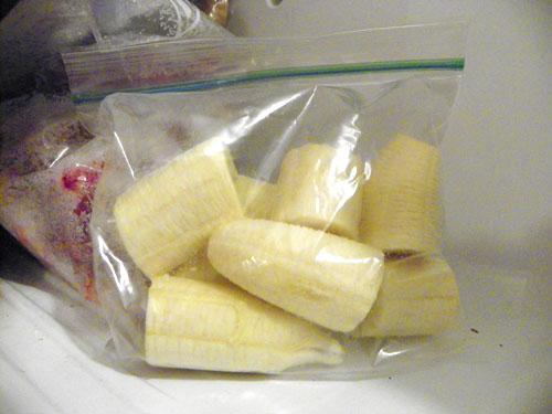banany mrazene