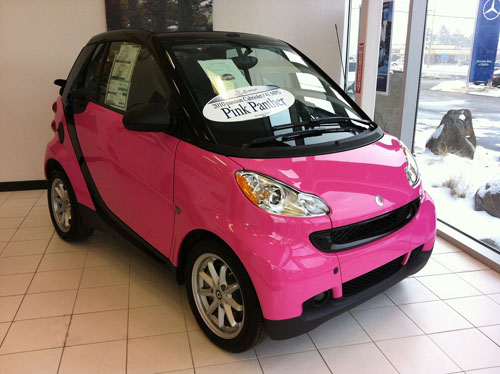 smart cars for sale used pink saw this pink smart car