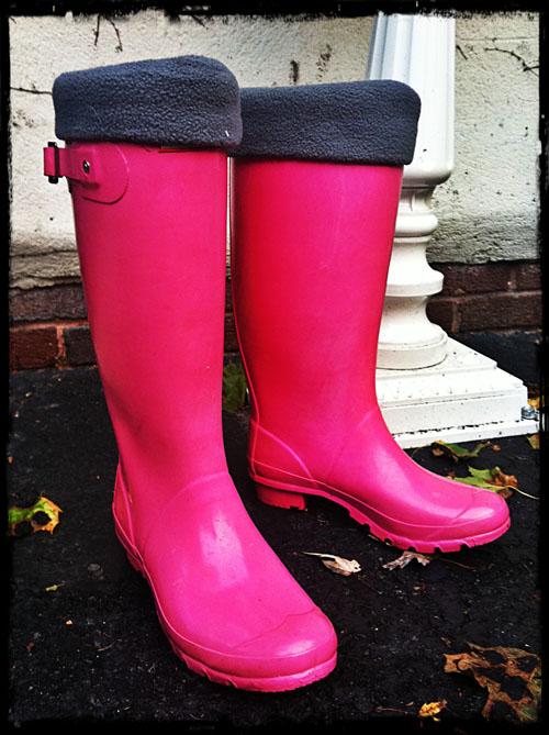 ljcfyi: Rain boot liners
