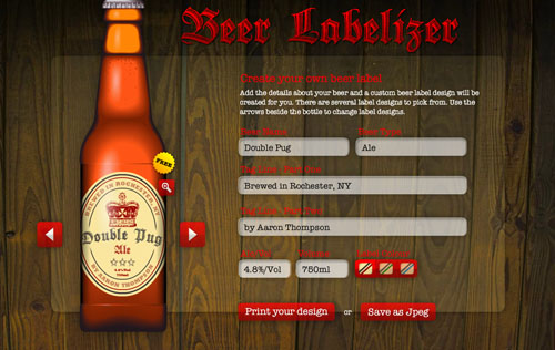 Ljcfyi jam and beer label makers for Beer label machine