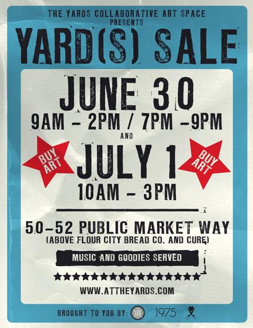 free yard sale templates