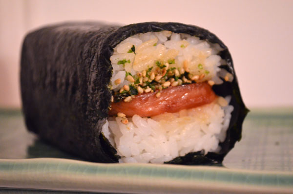 have been thinking about spam <b>musubi</b> since we were in Hawaii. It ...