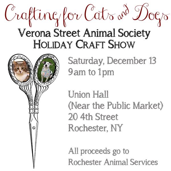 ljcfyi: Verona Street Animal Services Holiday Craft Sale