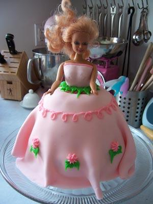 كيكة على شكل عروس dollCake_decoration.