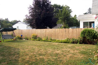 Ljcs Projects Garden Bamboo Fence